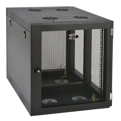 Tripp Lite 12u Wall Mount Rack Enclosure Server Cabinet Side Mount Wallmount - J. Rose Global