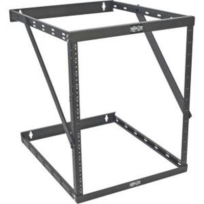 Tripp Lite 8u 12u 22u 2 Post Open Frame Rack Cabinet Expandable 23.5 Inch Depth Wall Mount - J. Rose Global