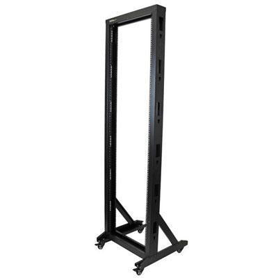 Startech Store Your Equipment In This Sturdy Steel Rack With Casters For Mobility - Compa - J. Rose Global