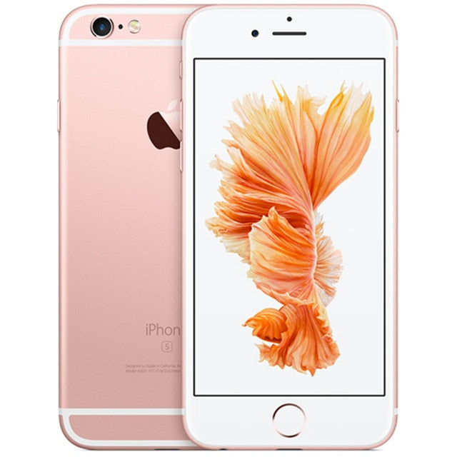 "Original Unlocked Apple iPhone 6S Smartphone 4.7"" IOS Dual Core A9  16/64/128GB ROM 2GB RAM 12.0MP 4G LTE IOS Mobile Phone - J. Rose Global"