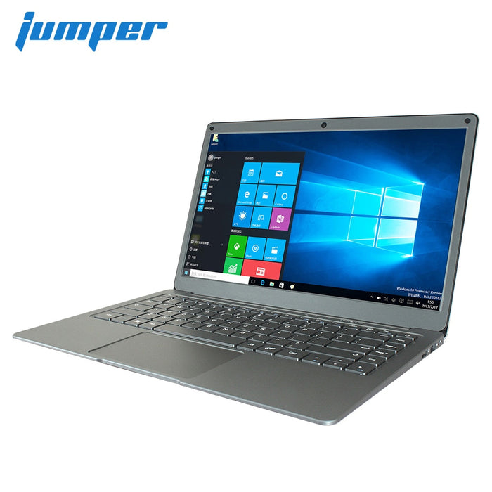 13.3 inch 6GB 64GB eMMC laptop Jumper EZbook X3 notebook IPS display Intel Apollo Lake N3350 2.4G/5G WiFi with M.2 SATA SSD slot - Handley Global Group, LLC