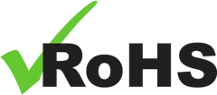 RoHS Certificate of Compliance Logo