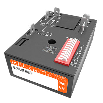 Time Delay Relays BKR Series from Infitec inc.