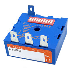 Time Delay Relays BS Series from Infitec inc.