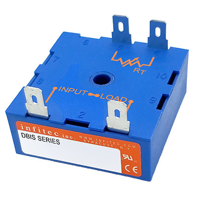 Time Delay Relays DBIS/DBRS Series from Infitec inc.