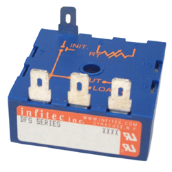 Time Delay Relays DFS Series from Infitec inc.