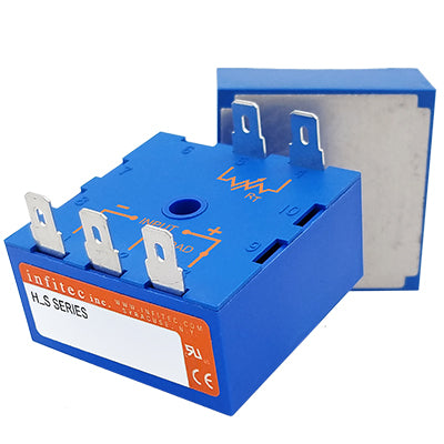 Time Delay Relays HS Series from Infitec inc.