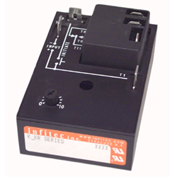 Time Delay Relays KKR Series from Infitec inc.