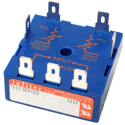 Time Delay Relays TDIS Series from Infitec inc.