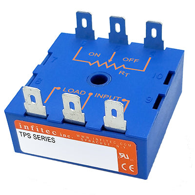 Time Delay Relays TPS Series from Infitec inc.
