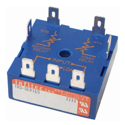 Time Delay Relays TRS Series from Infitec inc.