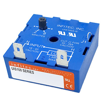 Time Delay Relays UIS Series from Infitec inc.
