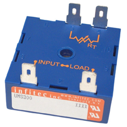 Time Delay Relays UMS300 Series from Infitec inc.