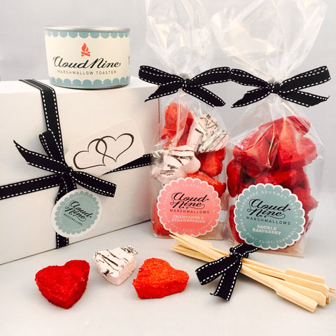 The Valentine's Day Marshmallow Toasting Kit