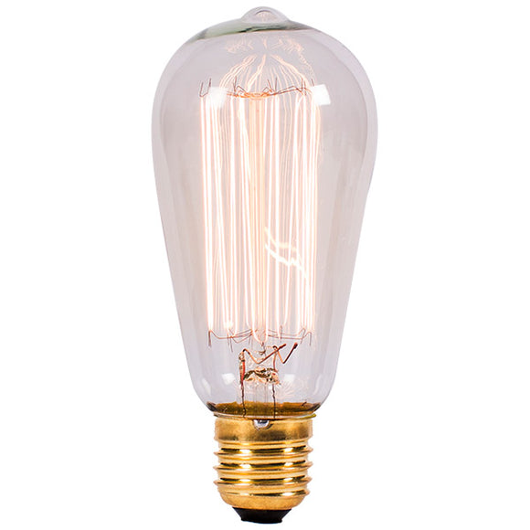 Bell Lighting 60W Vintage Squirrel Cage Amber - ES