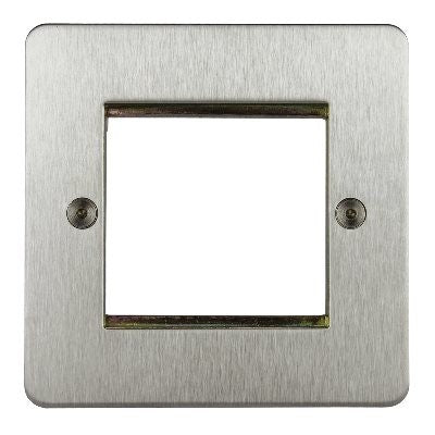 Horizon 2 Module Euro Plate Satin Chrome
