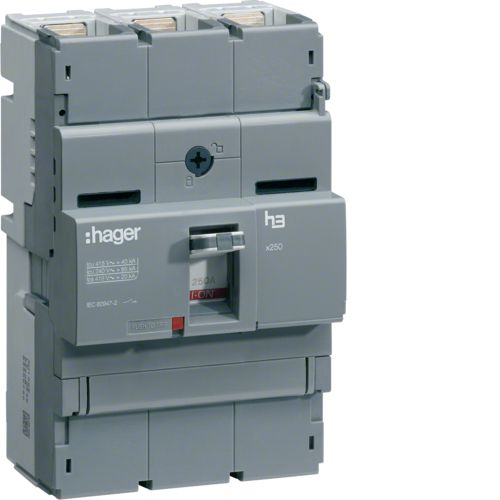 Hager Switch X250 3P 250A HCB250H