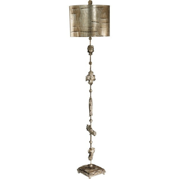 Fragment Small Silver Table Lamp