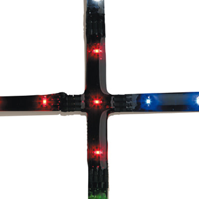 Cross 3xRed LED 0.075W 70mm