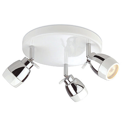 Marine Triple Flush Ceiling IP44 c/w GU10 3x35W 240V