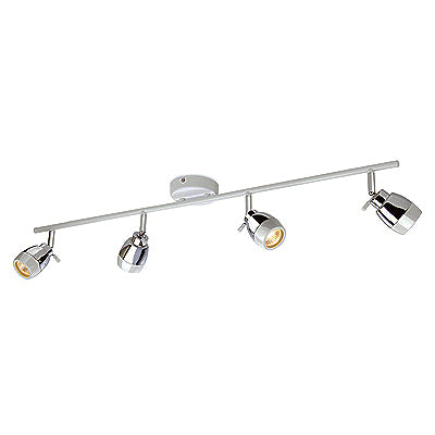 Marine Four Ceiling Bar IP44 c/w GU10 4x35W 240V