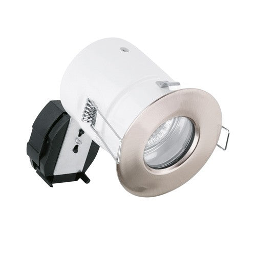 240V GU10 Aluminium IP65 Fixed Compact Fire Rated Downlight