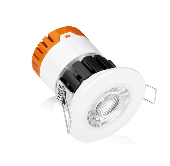 Enlite Fixed 8W Dimmable IP65 Fire Rated Downlight 3000K Warm White