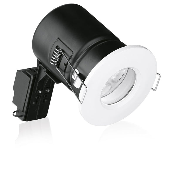 Aurora Enlite White IP65 Fixed Fire Rated Downlight