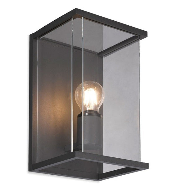 Carlton Wall Light Black Aluminium