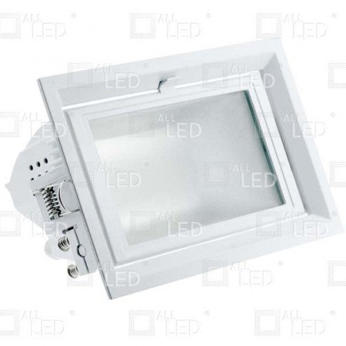 All Led AWW042WH/40/DALI - Rectangular LED Wash Commercial Fixture