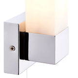 Saxby Square 1lt wall IP44 40W SW