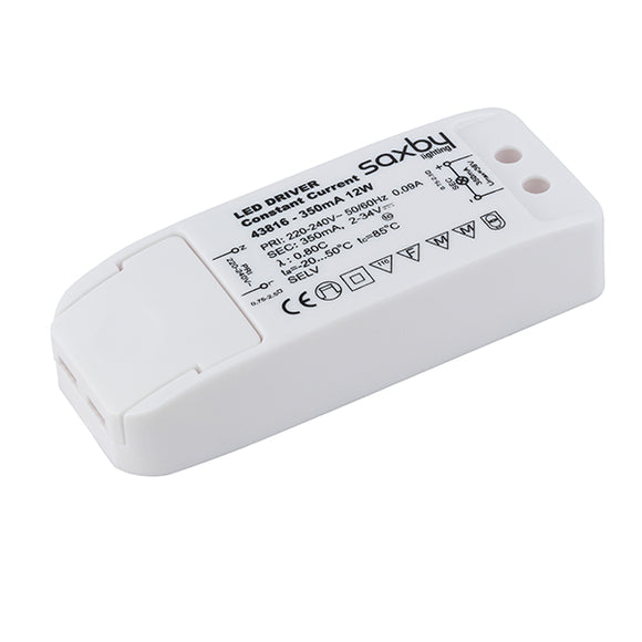 Saxby LED driver constant current 12W 350mA