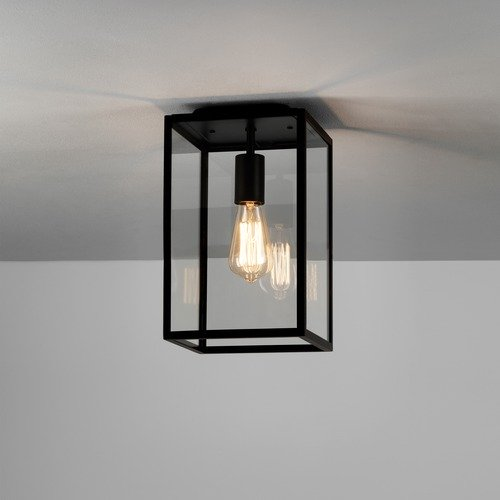 Astro Lighting Homefield Ceiling Textured Black
