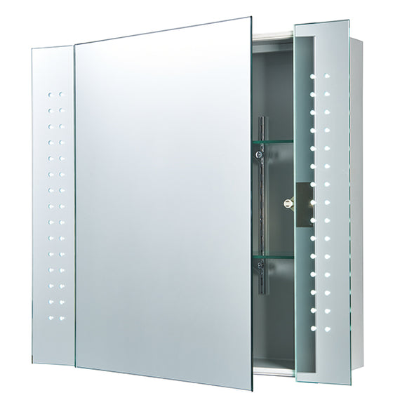 Saxby Revelo shaver cabinet mirror IP44 4.8W SW daylight white