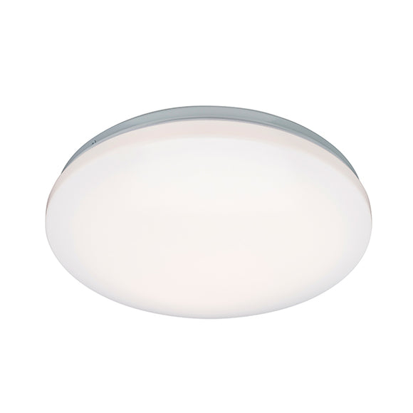 Saxby Broco flush IP44 16W warm white