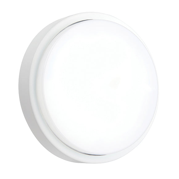 Saxby Rond IP54 12W cool white