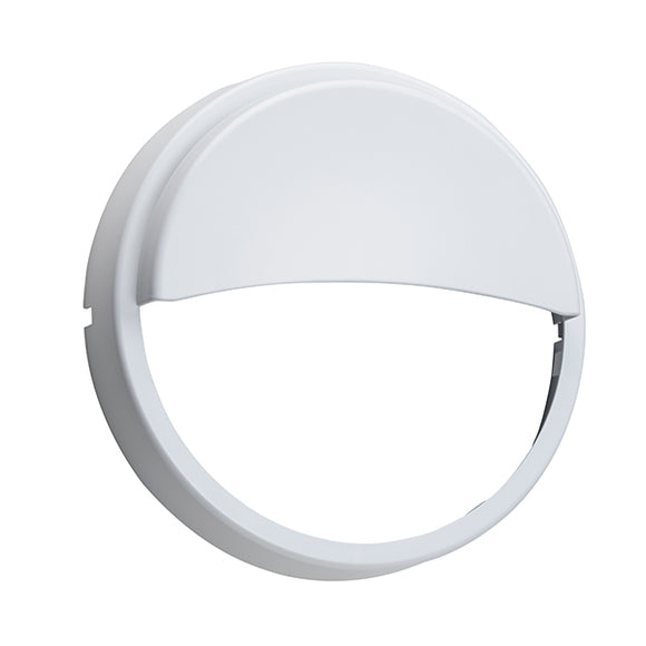 Saxby Rond white eyelid