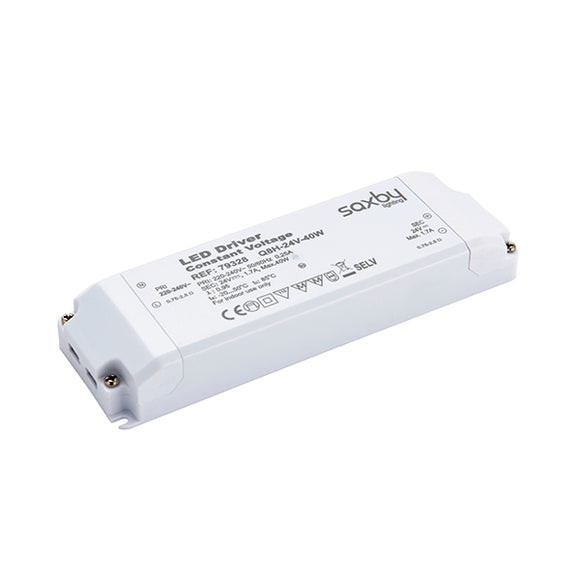 Saxby LED driver constant voltage 24V 40W