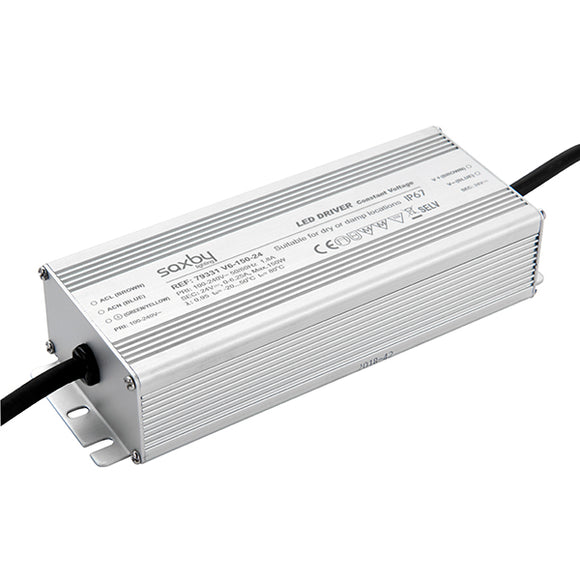 Saxby LED driver constant voltage iP67 24V 150W IP67