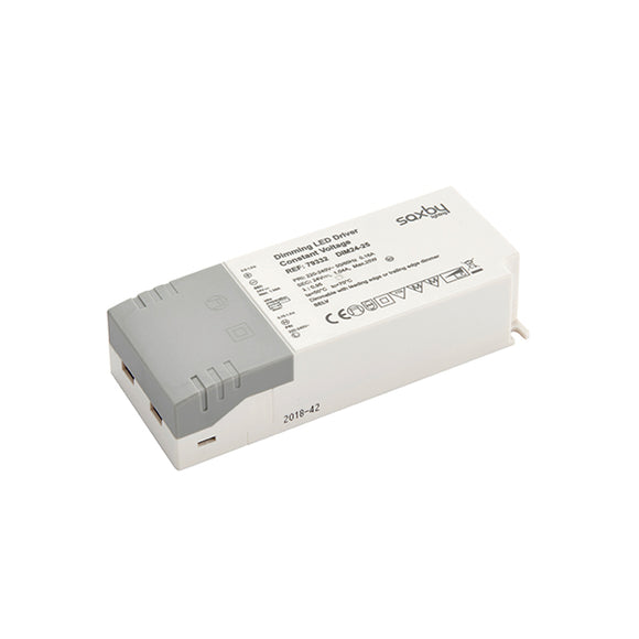 Saxby LED driver constant voltage dimmable 24V 25W