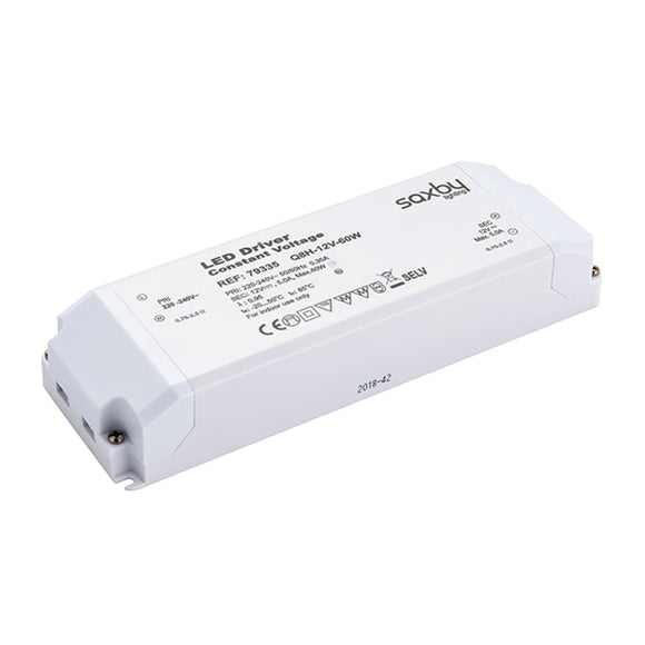 Saxby LED driver constant voltage 12V 60W