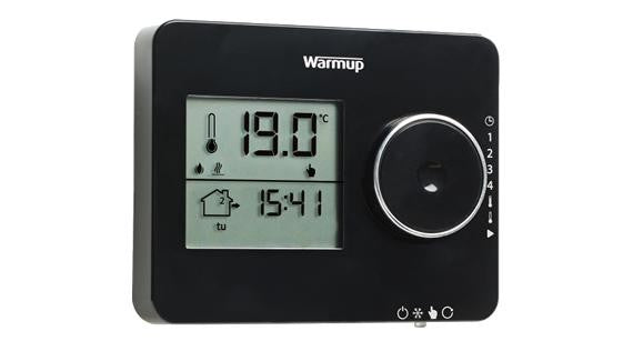 Elements Tempo Thermostat - Piano Black