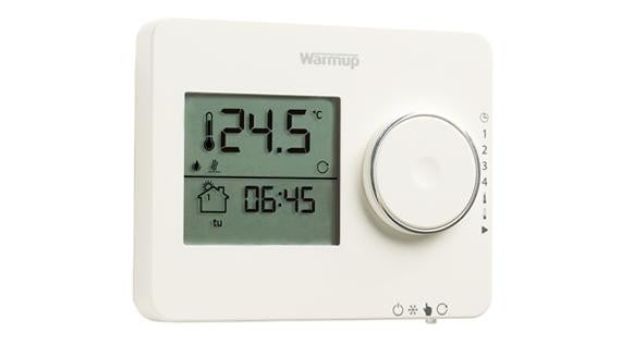 Elements Tempo Thermostat - Porcelain White