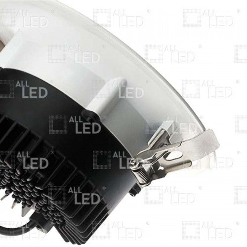 All Led ACR10019W/40/0-10 - 19w 0-10v Dimmable Commercial Downlight 4000K