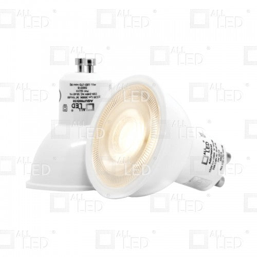 All Led AGU700D/60 - 7W HIGH OUTPUT DIMMABLE LED GU10