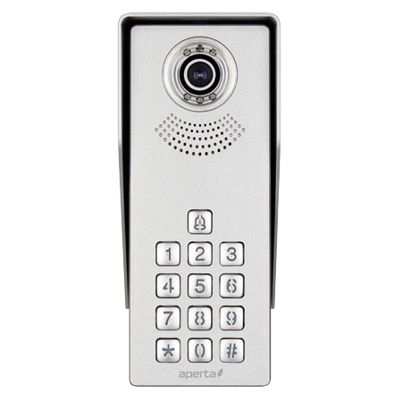 ESP Singleway Video Door Station with Keypad APDSSWKP