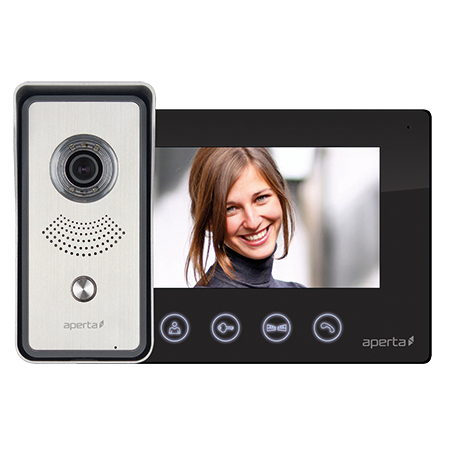 ESP Colour Video Door Entry System APKITBLK