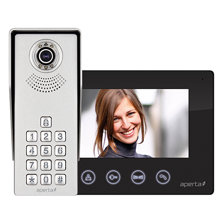 ESP Colour Video Door Entry Keypad System APKITKPBLK