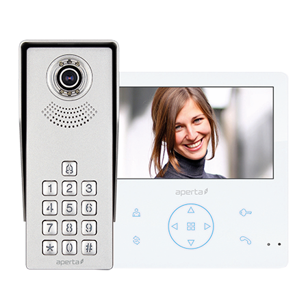 ESP Colour Video Door Entry Keypad System with Record Facility APKITKPG