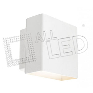 All Led AWL06/WH - 5w White Up/Down Wall Light